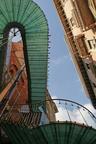 Milan,Escalier de secours: Architecte Marco Dezzi Bardeschi-2