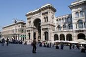 Milan,Galerie Vittorio Emanuele II: Architecte Giuseppe Mengoni