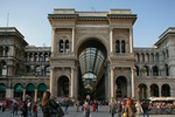 Milan,Galerie Vittorio Emanuele II: Architecte Giuseppe Mengoni-2