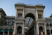 Milan,Galerie Vittorio Emanuele II: Architecte Giuseppe Mengoni-3