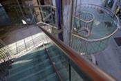 Milan,Escalier de secours: Architecte Marco Dezzi Bardeschi-8
